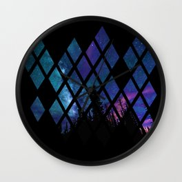 Diamond Sky Wall Clock