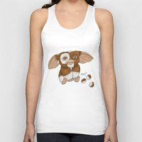 gizmo Tank Tops featuring Gizmo by Melissa Sanchez Art