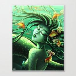 Green Embrace Canvas Print