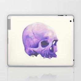 Purple Skull Laptop & iPad Skin