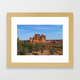 A Beautiful Place Framed Art Print