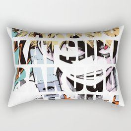 Baku in Impact Rectangular Pillow