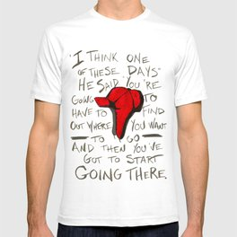 The Catcher In The Rye - Holden's Red Hunting Cap T-shirt