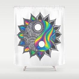 Yinyang Shower Curtain