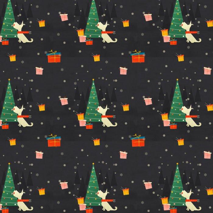 Little White Christmas Westie Leggings
