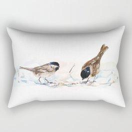 Oiseaux Rectangular Pillow