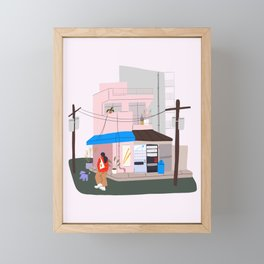 japan pt. 2 Framed Mini Art Print