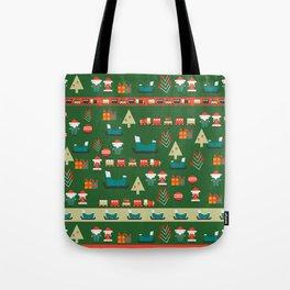 Santa's Christmas laboratory Tote Bag