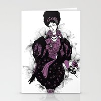baroque Stationery Cards featuring Baroque by ESZAdesign™