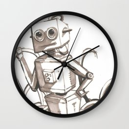 Tangled Bot Wall Clock