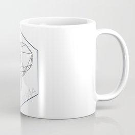etch44 elephant line art Coffee Mug