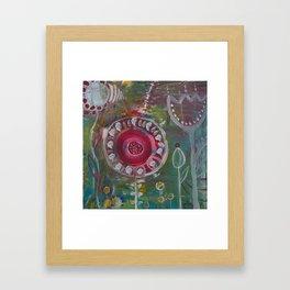 Frühling im Herzen Framed Art Print