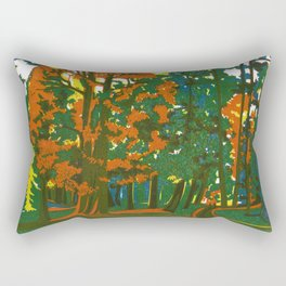 Bournemouth Gardens Rectangular Pillow
