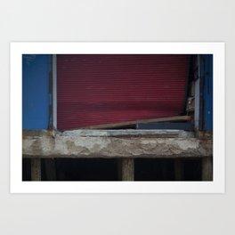 Red Gate, After Sandy Art Print