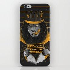 Royal Mugshot iPhone & iPod Skin