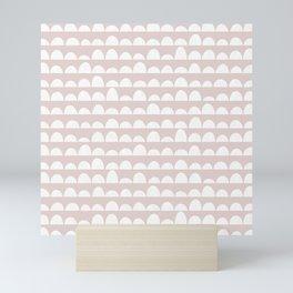 Dunes (light blush) Mini Art Print