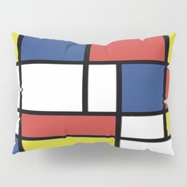 Mondrian 2 Pillow Sham