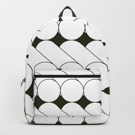 monochrome tubes c Backpack