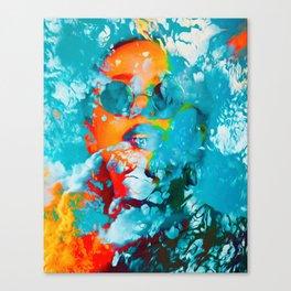 Sana, the colorful woman Canvas Print