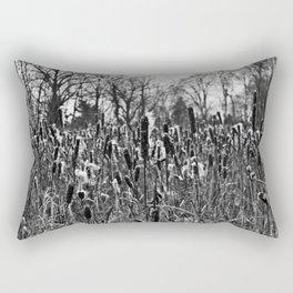Winter Poetry of the Grasses Rectangular Pillow