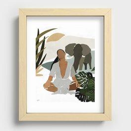 Rayne Recessed Framed Print
