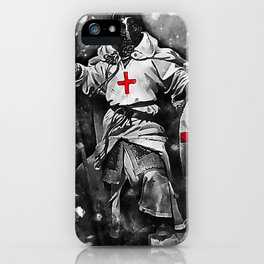 Crusader Warrior iPhone Case