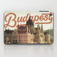 budapest iPad Cases featuring Budapest by Amigo Vic