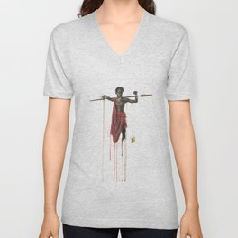 The Maasai Unisex V-Neck
