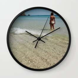Look Out Point Wall Clock