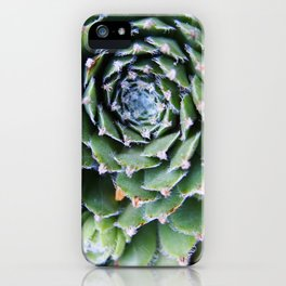 Succulent Circle iPhone Case