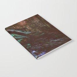 Forest Wall Dark Fairy Landscape Notebook