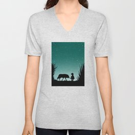"""Secret Encounters"" (Dedicated to the Ricci/Forte Theatre Company for their ""Grimmless"" Show) Unisex V-Neck"