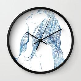 Undine I Wall Clock