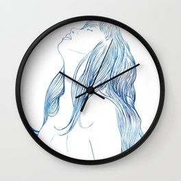 Undine I Wall Clock