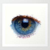 iris Art Prints featuring Iris by Paul Kimble