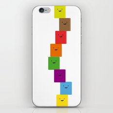 happy cubes iPhone & iPod Skin
