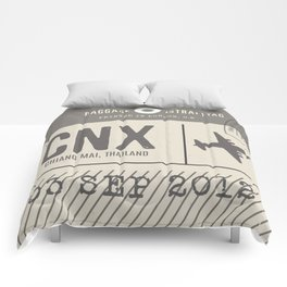 Travel Tag Thailand Comforters