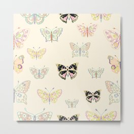 Petite Butterflies Collection Metal Print