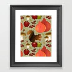 Hello Autumn! Framed Art Print