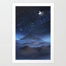 Night Mist Art Print