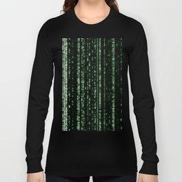 Streaming Mathematical Array Long Sleeve T-shirt