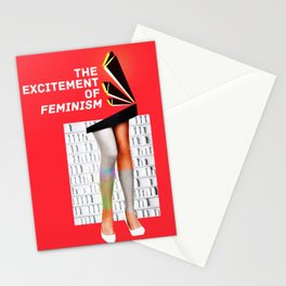 1920's Feminism Stationery Cards