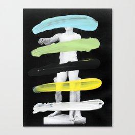 Untitled (Finger Paint 8) Canvas Print