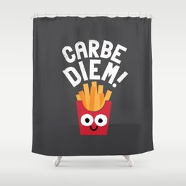 SuperSeize the Day Shower Curtain