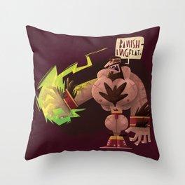 Banishing Flat Throw Pillow