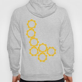 2013:  The Year I went in Circles (vertical) Hoody