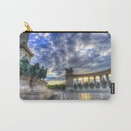 Heroes Square Budapest Sunrise Carry-All Pouch