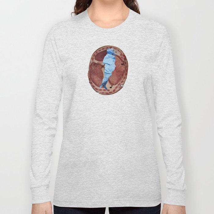Botticellis Venus - Rebuild iMeat Long Sleeve T-shirt