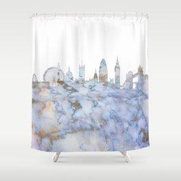 London Skyline Great Britain Shower Curtain