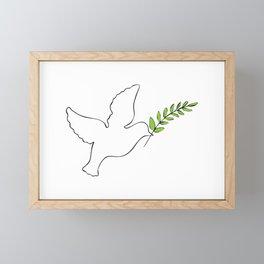 pax Framed Mini Art Print
